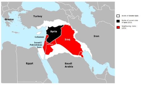 Map of Syria DARREN