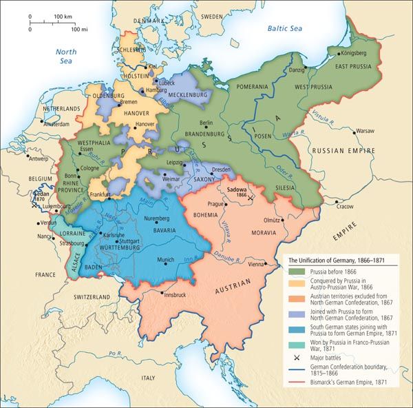 a look at bismark and the unification of the german empire